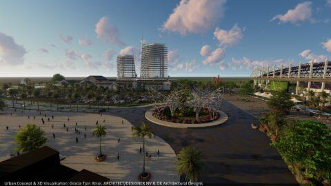 Full 3D Model - Ring Harbour City - Ring Harbour - Paramaribo, Suriname