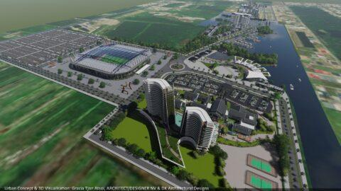 3D Model - Ring Harbour - Ring Harbour - Paramaribo, Suriname