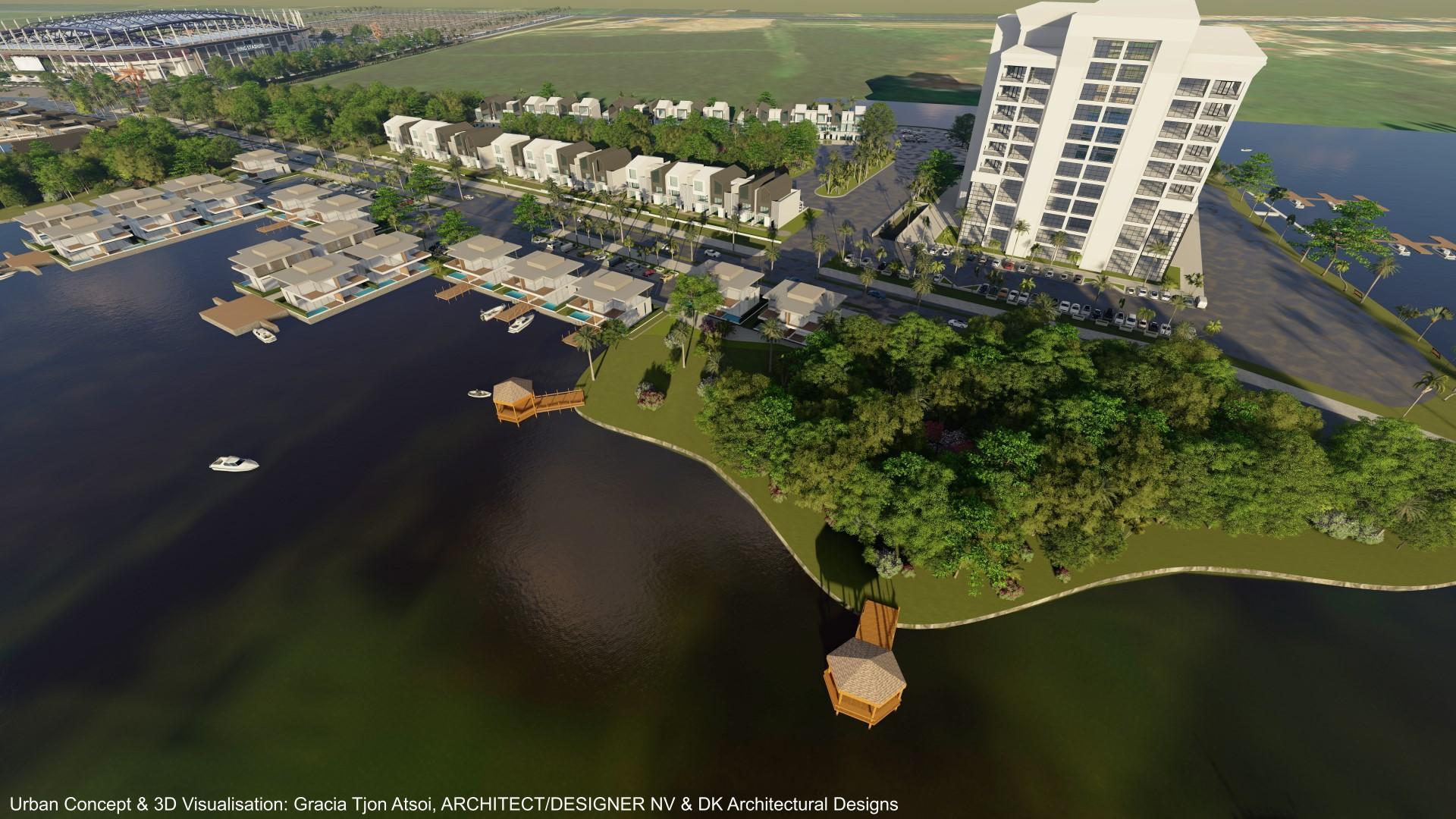 'Natuurbescherming bij verkaveling Ring Harbour - Uitdagend meerjaren ontwikkelingsplan