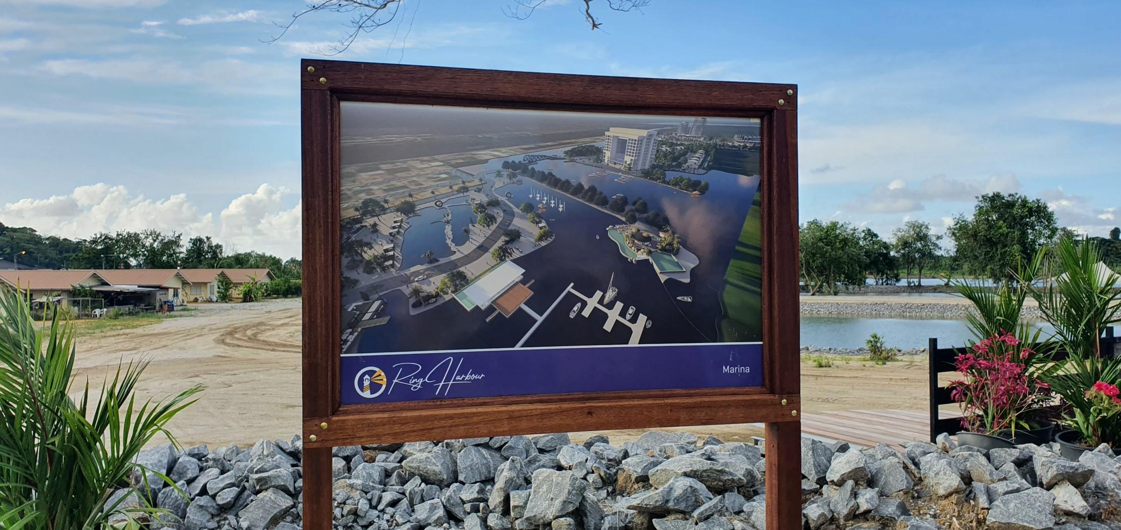 Presentatie woonproject en industriepark Ring Harbour City - Ring Harbour